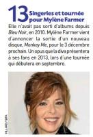 Mylène Farmer Presse 20 Minutes 28 septembre 2012