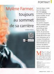 Mylène Farmer Presse Français Présent