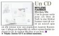 Mylène Farmer Presse La Voix du Nord 06 décembre 2012