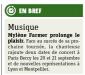 Mylène Farmer Presse Metro 04 décembre 2012