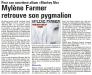 Mylène Farmer Presse Nord Littoral 06 décembre 2012