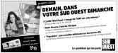 Mylène Farmer Presse Sud Ouest 24 novembre 2012