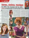 Mylène Farmer Télé 7 Jours 16 janvier 2012