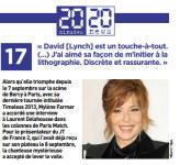 Mylène Farmer Presse 20 Minutes 13 septembre 2013