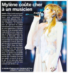 Mylène Farmer Presse 20 Minutes Suisse 01 octobre 2013