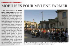 Mylène Farmer Presse Direct Matin 25 septembre 2013