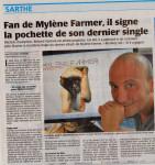 Mylène Farmer Presse Le Maine Libre 10 septembre 2013