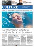 Mylène Farmer Presse Le Matin dimanche 06 octobre 2013