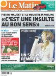 Mylène Farmer Presse Le Matin 20 septembre 2013
