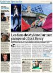 Mylène Farmer Presse Le Parisien 31 août 2013