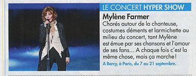 Mylène Farmer Presse Voici 19 juillet 2013