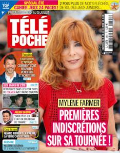 Mylène Farmer - Télé Poche - 19 juillet 2021